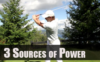 3 Sources to Increase Power in Your Golf Swing