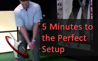 Golf Swing Setup | How to Setup Perfectly Every Single Time