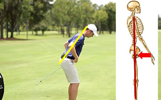 Correct Golf Posture and Balance for Golf Setup
