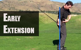 Early Extension in Golf | Maintain the Tush Line in the Downswing