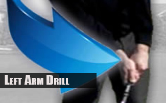 What the Left Arm Does in the Golf Downswing - LADD Drill