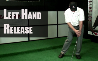 Golf Left Hand Release Drill for Effortless, Penetrating Shots