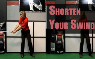 Load Better to Shorten Your Golf Swing, Improve Transition