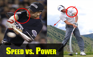 Speed vs. Power in the Golf Swing