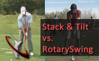 Stack and Tilt Golf Swing from a Biomechanics Viewpoint