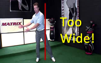 Eliminating the Confusion About Golf Stance Width