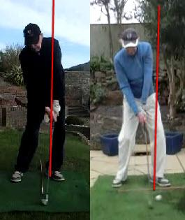 You Hit the Golf Ball with Your LEGS!! | RotarySwing com