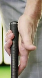 Grip strength comes from the last three fingers