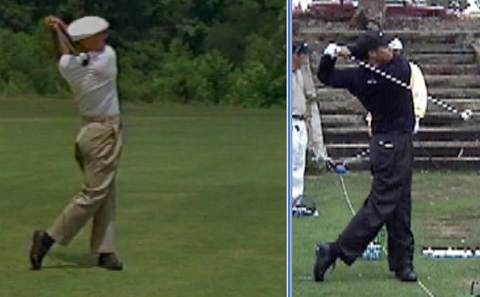 Ben Hogan S Golf Swing Face On Rotaryswing Com