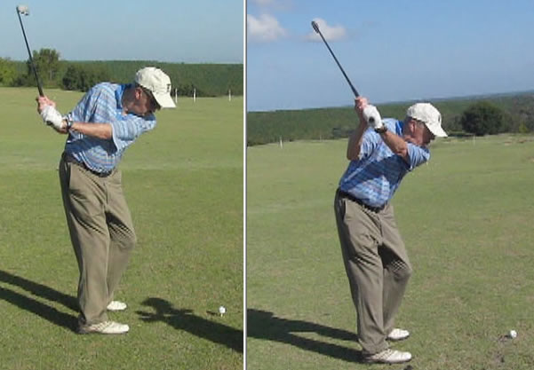 Rotary Swing Tour student gets amazing backswing improvement