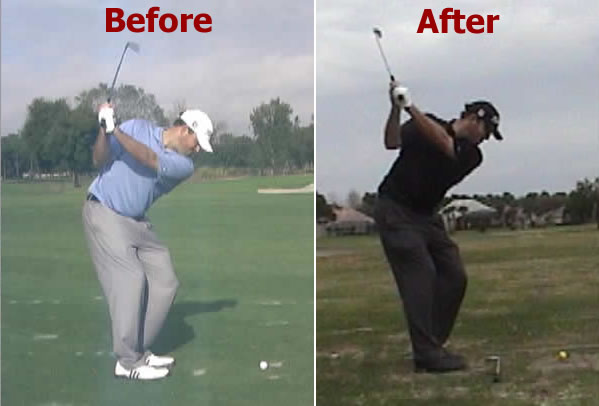 Tour pros use Rotary Swing online golf instruction videos