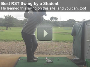 excellent student Rotary Golf Swing
