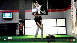 golf swing impact position