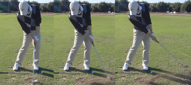 Korean pro golfer thrilled with impact position improvement