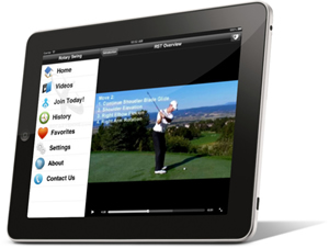 golf instruction ipad