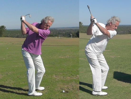 this student shows how to improve your backswing