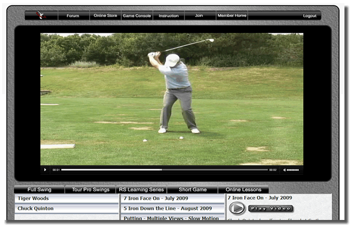 chuck quinton golf swing stack tilt