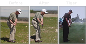 Rotary Swing Tour golf instruction helps students swing like Tiger Woods