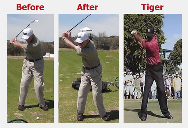 79-year-old makes dramatic improvement in his golf backswing