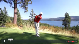 the backswing in golf