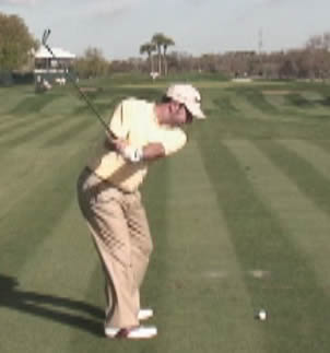 Jose Maria Olazabal backswing