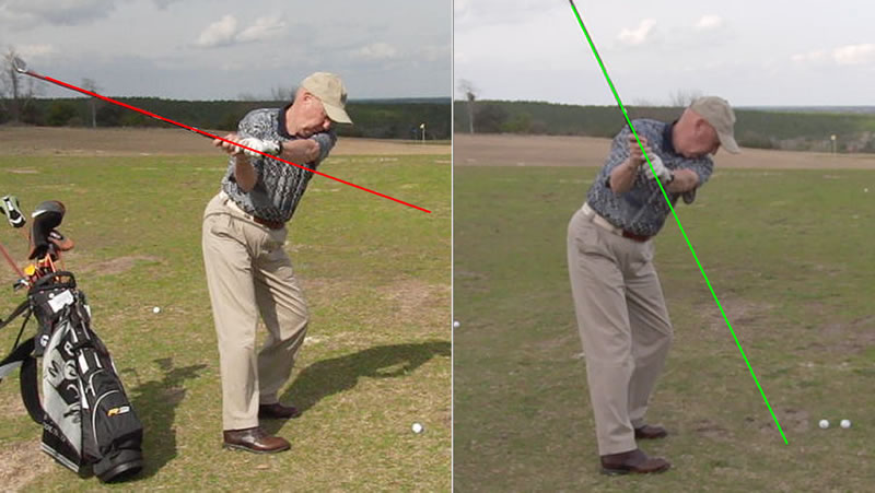 learn the backswing