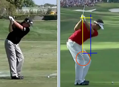 depth in the golf swing