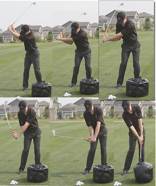 how to get lag in the golf swing