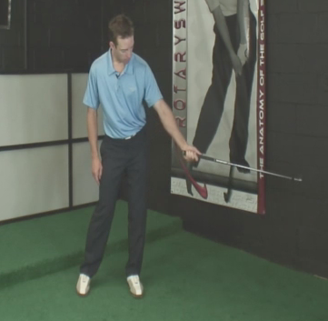 left hand release of the club