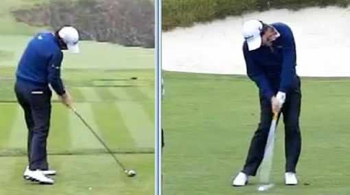Rory McIlroy impact position