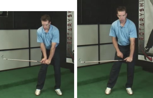 how to do a perfect golf transition