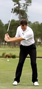 wide to narrow golf swing shape