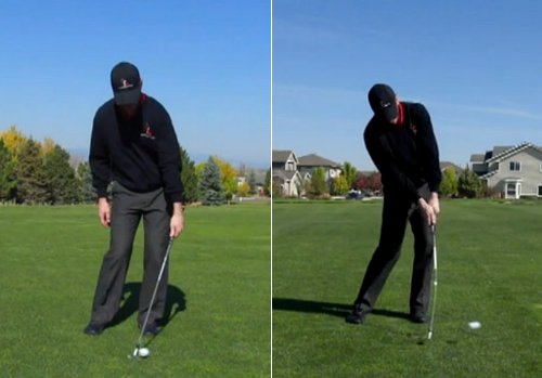 Impact with left arm only, and both arms