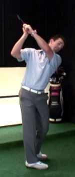 Backswing in the Rectangle