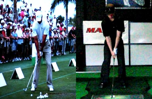 Tiger Woods' swing & Chuck Quinton