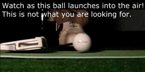 The ball launches