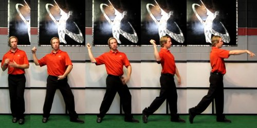 The basic throwing motion