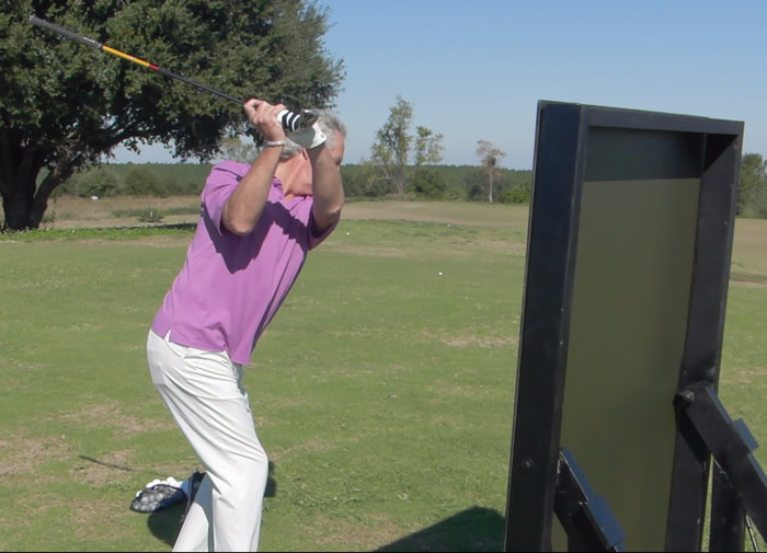 practice the golf swing with progression