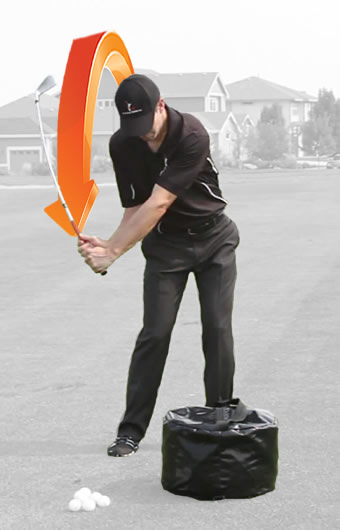 how to get more lag hand path golf swing