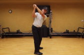 Winter Golf Training Program - Backswing