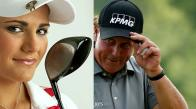 Phil Mickelson vs. Lexi Thompson - Lower Body Power