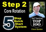 Step 2 - Core Rotation