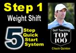Step 1 - Weight Shift