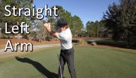 How to Keep Your Left Arm Straight in the Backswing