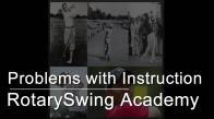 Clinic - Problems with Golf Instruction