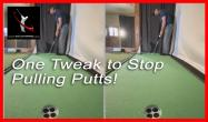 Left Hand Grip for Perfect Putting Stroke