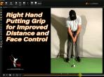 Right Hand Putting Grip for Touch and Distance Control