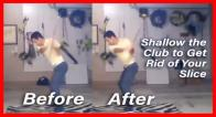 How to Shallow Your Golf Swing Fast and Easy