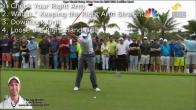 Tiger Woods Turn and Width