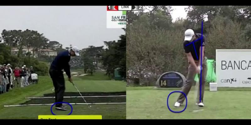 Justin Rose - Using the Right Foot for Consistency